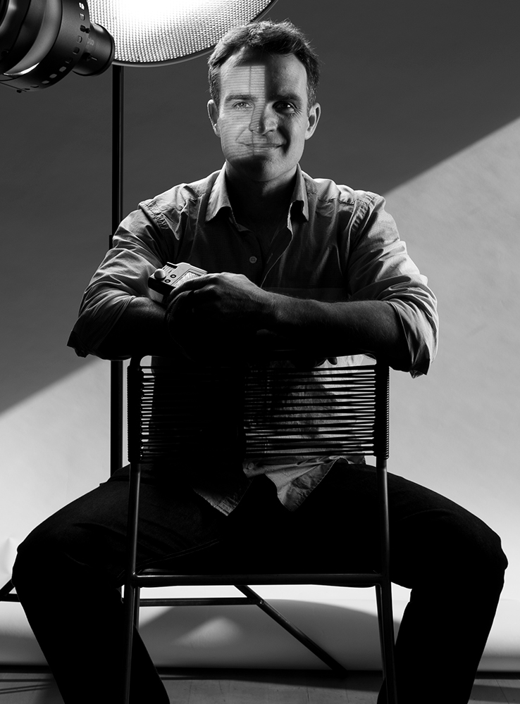 professional photographer Adam Firth self portrait