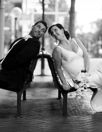 Wedding Photography in city location