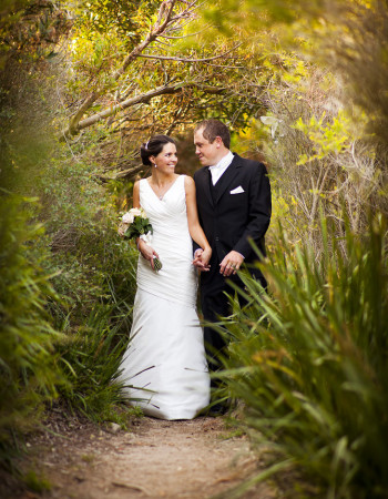 Wedding Photography in natural bush setting