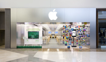 Professional photographer image of apple store