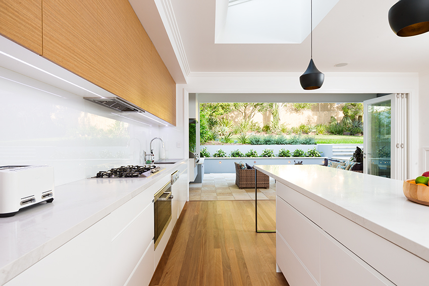 Interiors photographer captures house in Auckland