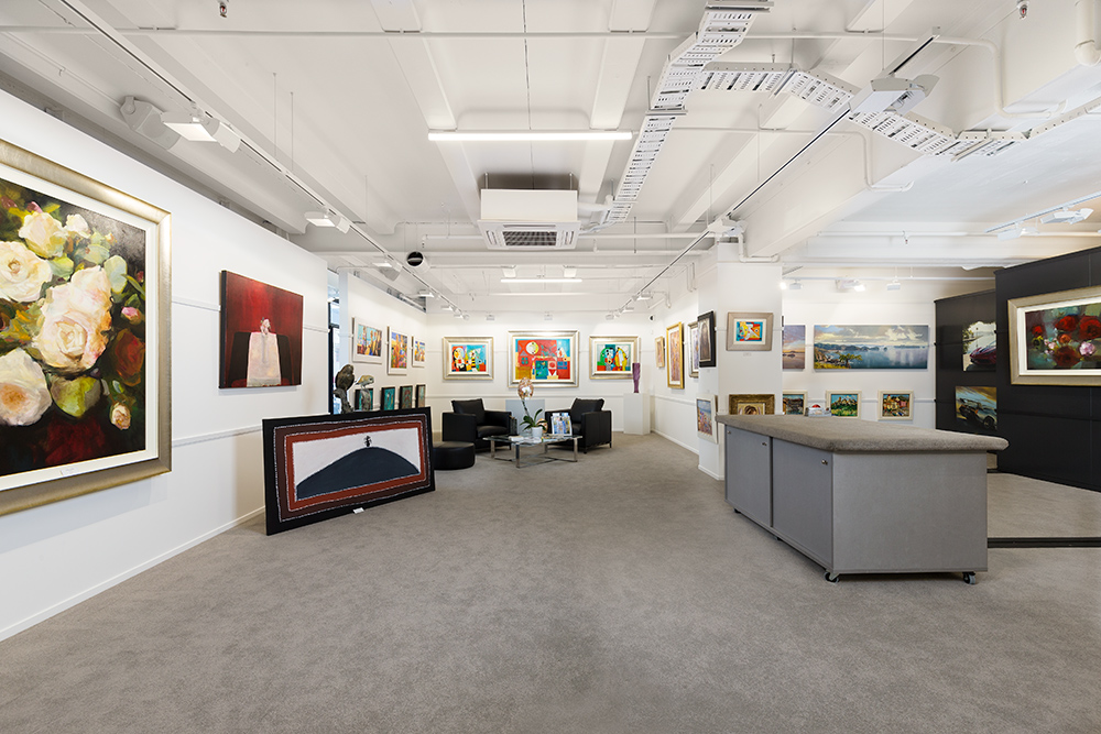 Auckland architectural photographer captures internal architectural images of Parnell Art Gallery