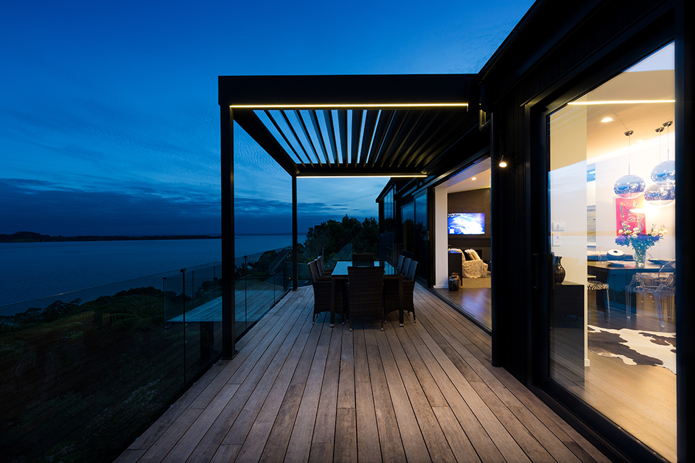 architectural photographer auckland example image at dusk