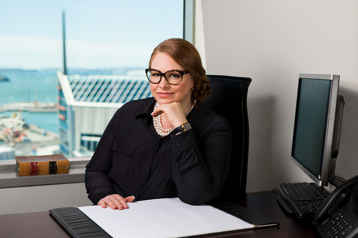 corporate portrait of lawyer in Auckland