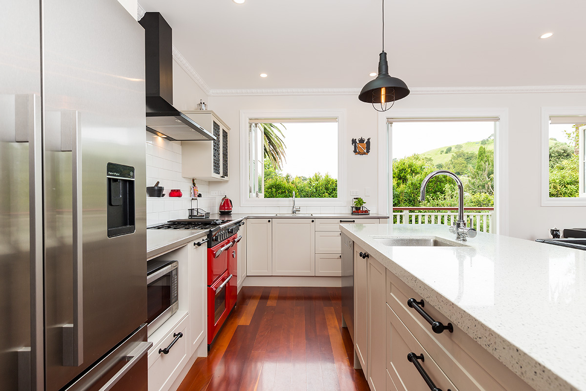 architectural photography by architectural photographer Adam Firth a kitchen example