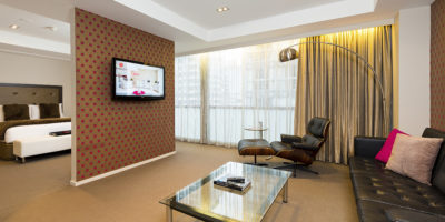 high end room interior hotel photography