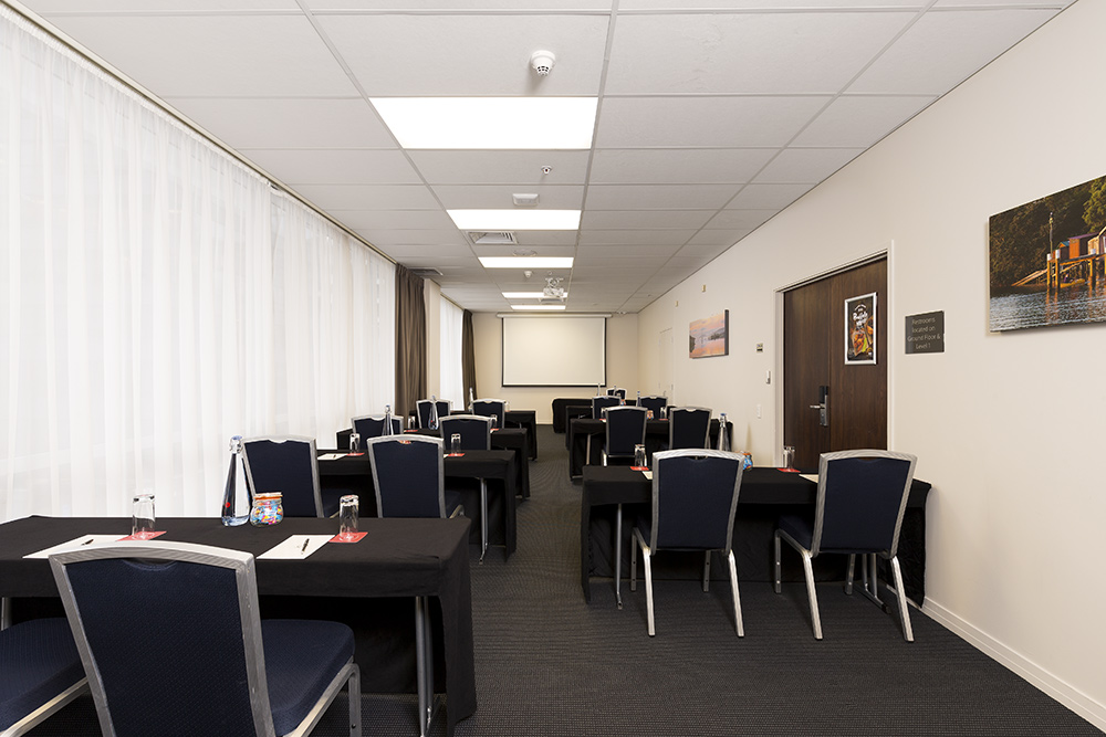 small function room photographed for Rydges Hotel